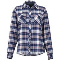 Marmot Women's Bridget Midweight Flannel Long-Sleeve Shirt