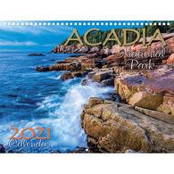 Maine Scene Acadia National Park 2021 Wall Calendar