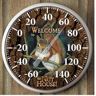 Wild Wings Squirrel Thermometer