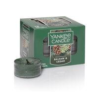 Yankee Candle Tea Light Candle - Balsam & Cedar