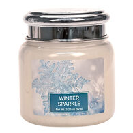 Village Candle Petite Glass Jar Candle - Winter Sparkle