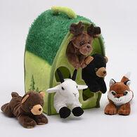 Unipak Designs Plush Animals In A Tree - 6 Piece