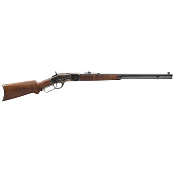 Winchester 1873 Sporter Octagon Pistol Grip Color Case Hardened 45 Colt 24 14-Round Rifle