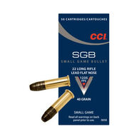 CCI SGB 22 LR 40 Grain LFN Ammo (50)