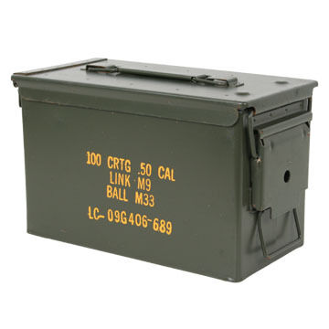 US Military Surplus 50 Cal. Ammo Can