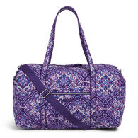 Vera Bradley Signature Cotton 25628 Iconic Large 49 Liter Travel Duffel Bag