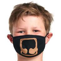 Hatley Little Blue House Boys' & Girls' Bear Non-Medical Reusable Face Mask