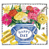 Happy Day (A Bouquet in a Book): Turn this Book into a Bouquet by Molly Hatch