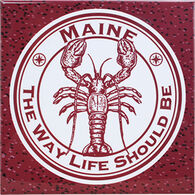 ABS Products Lobster The Way Life Should Be Trivet
