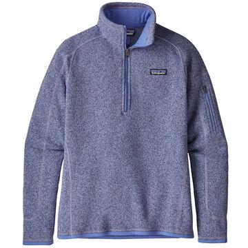 Patagonia Womens Better Sweater 1/4-Zip Fleece Top