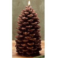 DECO GLOW Pinecone Candle - Medium