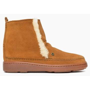 Minnetonka Womens Jade Sheepskin Slipper Boot
