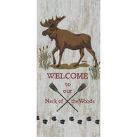 Kay Dee Designs Welcome To Our Neck Of The Woods Tea Towel