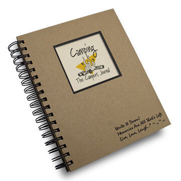 """Journals Unlimited """"Write it Down!"""" Camping Journal"""