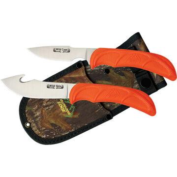 Outdoor Edge Wild-Pair Caper & Gut-Hook Skinner Knife Set