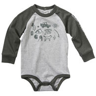 Carhartt Infant Boy's Camping Out Long-Sleeve Bodyshirt