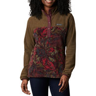 Columbia Women's Benton Springs Printed Half Snap Fleece Pullover