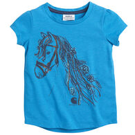 Carhartt Toddler Girl's Foil Horse Short-Sleeve T-Shirt
