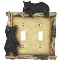 Rivers Edge Bear Double Switch Cover