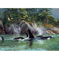 Outset Media Jigsaw Puzzle - Orcas