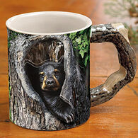 Wild Wings Cubby Hole Bear Mug