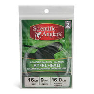 Scientific Anglers Freshwater / Saltwater Steelhead Tapered Leader - 2 Pk. - Discontinued Model