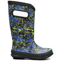 Bogs Boys' Rain Boot Micro Camo Boot