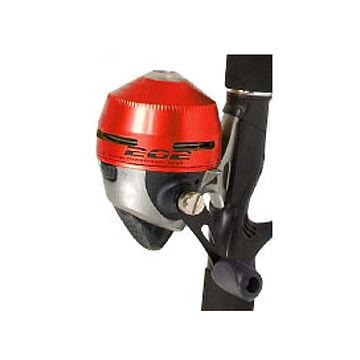 Zebco 202 Red Spincast Reel