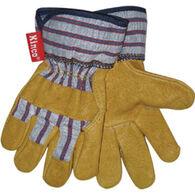 Kinco Boys' & Girls' Grain Pigskin Leather Palm Glove