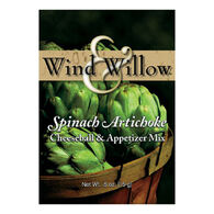 Wind and Willow Spinach Artichoke Cheeseball & Appetizer Mix