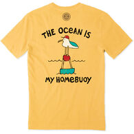 Life is Good Men's The Ocean Is My Homebuoy Crusher Short-Sleeve T-Shirt