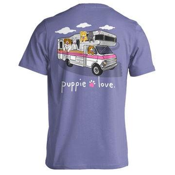 Puppie Love Womens RV Pup Short-Sleeve T-Shirt