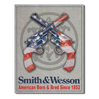 Desperate Enterprises Smith & Wesson American Born Tin Sign