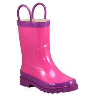 Western Chief Girls' Classic Fire Chief Rain Boot