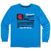 Carhartt Boys' Carhartt Strong Long-Sleeve T-Shirt