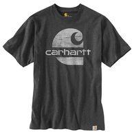 Carhartt Men's Big & Tall Original Fit Heavyweight C Graphic Logo Short-Sleeve T-Shirt