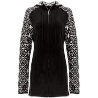 Icelandic Design Women's Cobie Full Zip Hooded Sweater