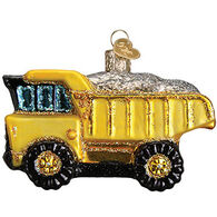 Old World Christmas Toy Dump Truck Ornament