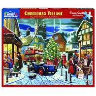 White Mountain Jigsaw Puzzle - Christmas Village
