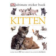 Ultimate Sticker Book: Kitten by DK Publishing