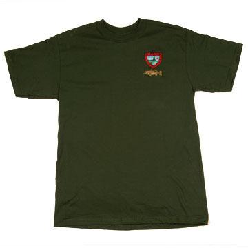 Maine Inland Fisheries and Wildlife Short-Sleeve T-Shirt - Bass