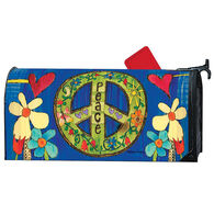 MailWraps Peace Everywhere Magnetic Mailbox Cover