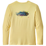 Patagonia Men's Graphic Tech Fish Long-Sleeve T-Shirt