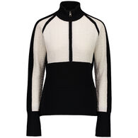 Obermeyer Women's Dolly Cashmere Blend Half-Zip Pullover