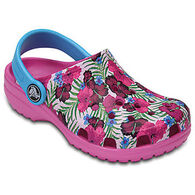 Crocs Boys' & Girls' Classic Graphic Clog