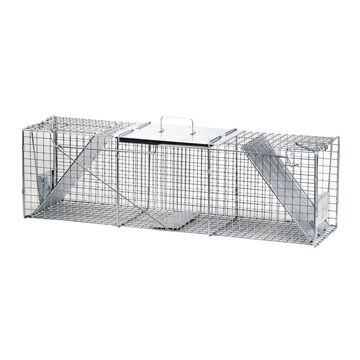 """Havahart 42"""" Extra Large Two-Door Live Animal Cage Trap"""