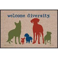 High Cotton Door Mat - Welcome Diversity