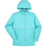 Kenpo Women's i5 Hooded Cape Front Reflective Tape Jacket