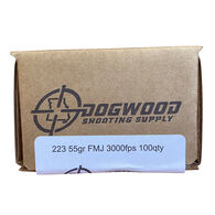 Dogwood Shooting Supply 223 55 Grain FMJ Rifle Ammo (100)