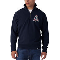 47 Brand Men's New England Patriots '47 Striker 1/4-Zip Sweatshirt